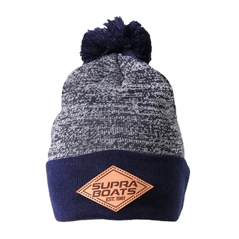Supra Northwest Beanie - White | Navy