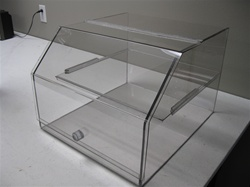Clear Food Display Case