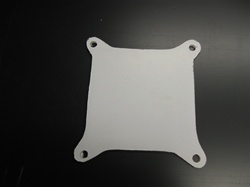 Lexan Chevrolet Manifold Cover by Precision Plastic Products, Inc.