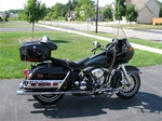 Harley Davidson FLT Windshield by Precision Plastic Products, Inc.