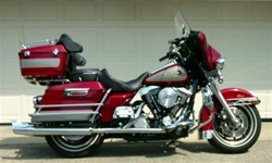 Harley Davidson FLTC Windshield by Precision Plastic Products, Inc.