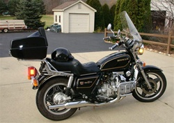 Honda Deluxe Goldwing 1100 Windshield by Precision Plastic Products, Inc.