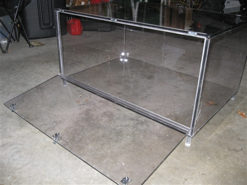 """9"""" Deep Acrylic Lexan Container 