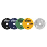 "DISCO Premium 3-Step 4"" Wet Polishing Pads- StoneTooling.com"