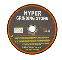 "<p style='color:red;'>New! Save BIG!</p>Hyper Grinding Stones 4"" x 2"""