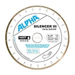 "Alpha 14"" & 16"" Silencer III Diamond Blade"