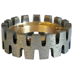 Nicolai Turbo Crown Stubbing Wheel- StoneTooling.com