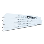 "Makita 6"" x 14 TPI Recipro Blades 5 Pack"