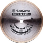 "Husqvarna 10"" Superlok Glass + Diamond Blade"