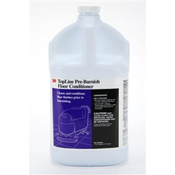 3M Topline Pre-burnish Floor Conditioner, Gallon