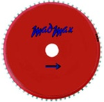 "Mad Max 16""/25mm Milling Wheel"