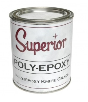 Superior Poly-Epoxy Adhesive - Knife Grade