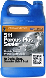 Miracle Sealants 511 Porous Plus Penetrating Sealer,Contractor Pack