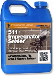 Miracle Sealants 511 Impregnator Penetrating Sealer, Pint