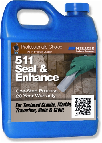 Miracle Sealants 511 Seal Amp Enhance For Stone Qrt