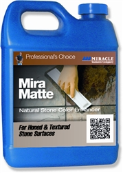 Miracle Sealants Mira Matte Stone Enhancer, Quart