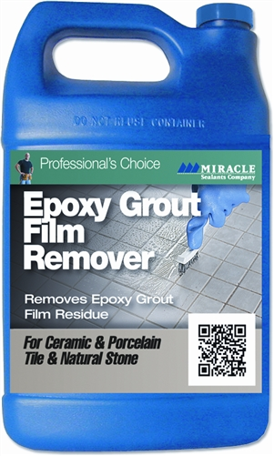 Miracle Sealants Epoxy Grout Film Remover, Gallon