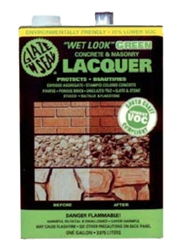 "Glaze 'N Seal ""Wet Look"" Green Concrete & Masonry Lacquer, Gal"