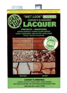 Glaze N Seal Masonry Amp Concrete Wet Look Lacquer