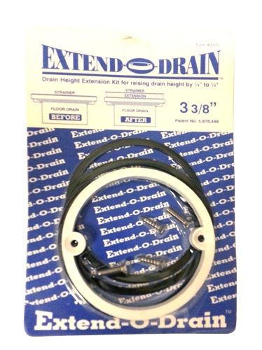 Shower Drain Extender Kit
