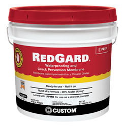 RedGard Waterproofing and Crack Prevention Membrane- StoneTooling.com