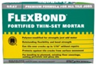 Custom Flexbond Fortified Thin-Set Mortar, Gray