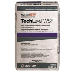 CustomTech TechLevel-WSF Fiber Reinforced Self-Leveling Underlayment