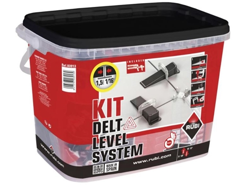 "<p style='color:red;'>Great Deal!</p> Rubi Delta 1/32"" Leveling System 03913"