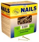 "Roofing Nails 1-1/2"", 5lb"