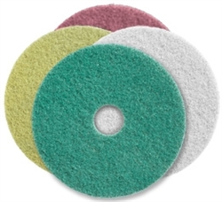 Twister Diamond Cleaning Pads, 8 in size