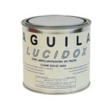 Aguila Lucidox Black Paste Wax, 750mL