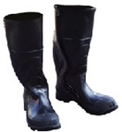 Steel Toe Knee Boots