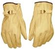 Leather Gloves w/Strap