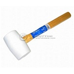 16 oz. White Rubber Mallet