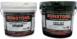 Bonstone Fast Set 41 Epoxy- Buff - StoneTooling.com