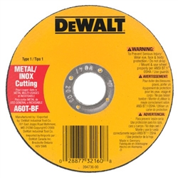 "Dewalt 5"" Thin Metal Cut-Off Wheel Type 1 DW8063"