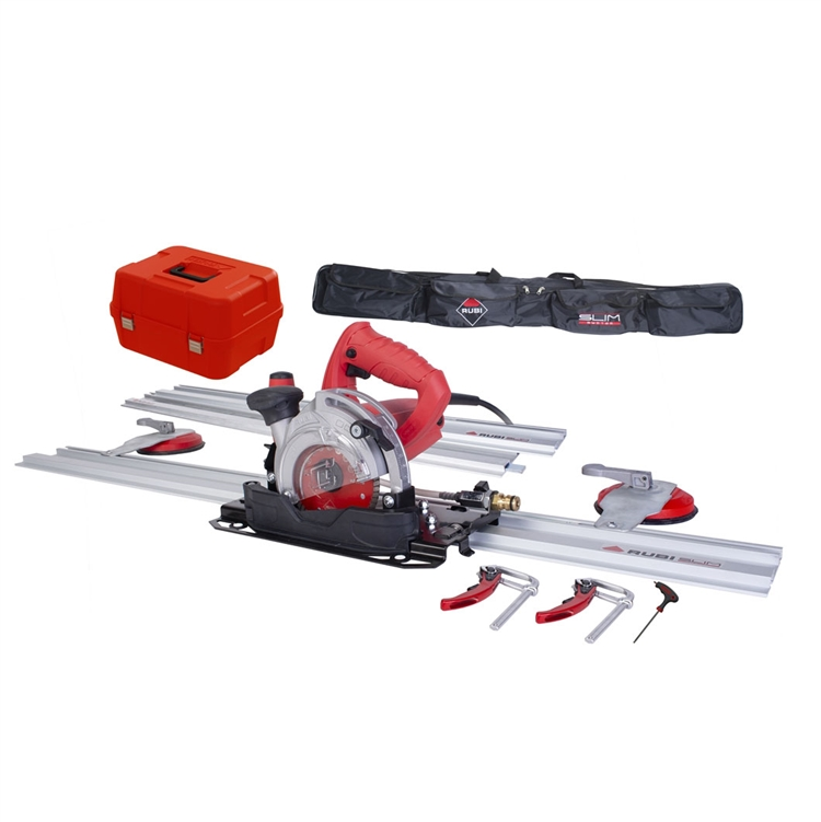 "Rubi TC-125 5"" Circular Tile Saw Kit w/ Guides 51903 - StoneTooling.com"