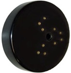"10"" Polishing Head Velcro Plt"