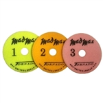 "Mad Max 4"" Tornado 3-Step Polishing Pads- StoneTooling.com"