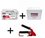 Tuscan Leveling System, 500 Cap & 1000 Strap Package with FREE Standard Installation Tool
