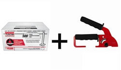 Tuscan Leveling System, 500 Cap Box with FREE Standard Installation Tool