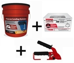 Tuscan Leveling System, 200 Cap & 200 Strap Package with FREE Standard Installation Tool