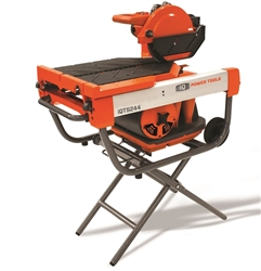 iQ Power Tools iQTS244 Dry Cut Tile Saw w/Stand- StoneTooling.com