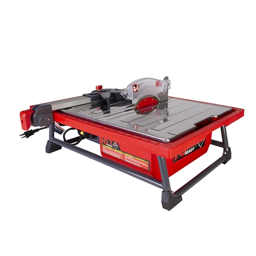 "<p style='color:red'>Includes FREE Extra 7"" Blade!</p>Rubi Tools ND-7"" Ready Countertop Tile Saw"