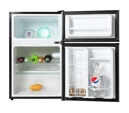 A Great College Idea For Students - Midea College Fridge with Freezer - 3.1 Cu Ft Dorm Essential