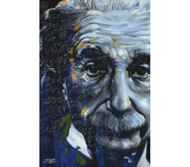 College Decorations Are Cheap - Einstein Relative Poster - Add Decor To Dorms