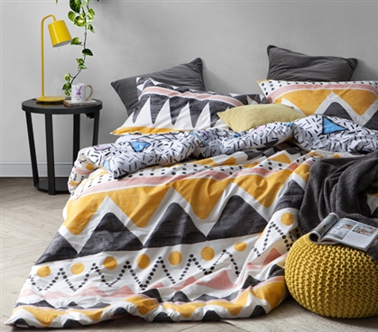 Happy Smile Lively College Bedding Twin XL Comforter