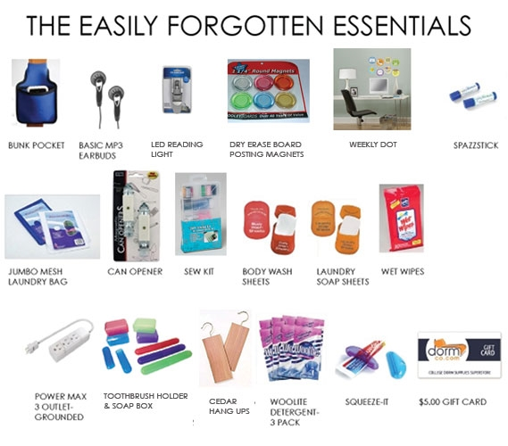 The Easily Forgotten Essentials