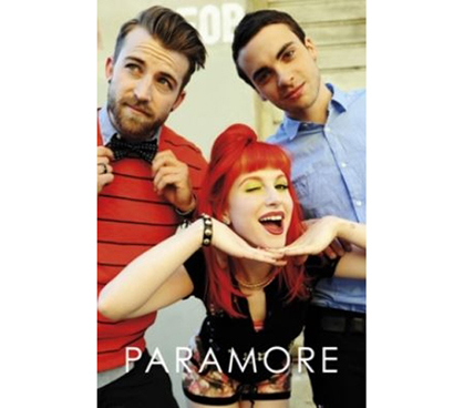 Fun Dorm Item - Paramore Group Shot Poster - Essentials For Dorm Rooms