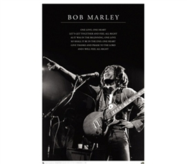 Bob Marley - One Love College Dorm Poster music inspired Bob Marley college dorm size poster for college dorm decorating